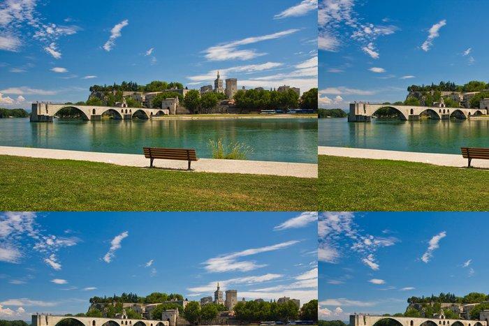 Vinylová Tapeta Avignon Bridge - Evropa