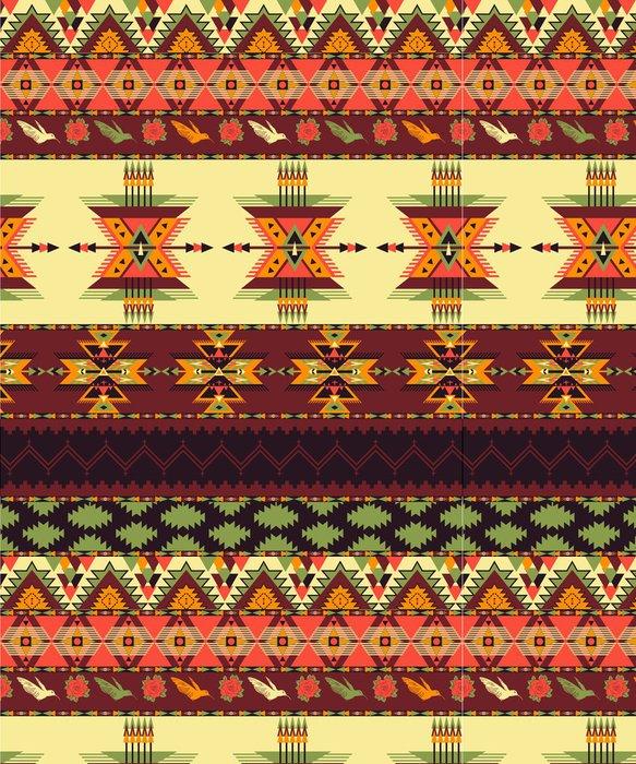 Vinylová Tapeta Aztec bezešvé vzor - Styly
