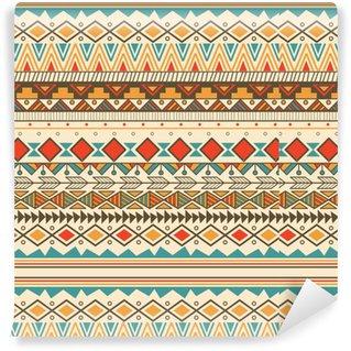 Vinylová Tapeta Aztec kmenový vzor v pruzích