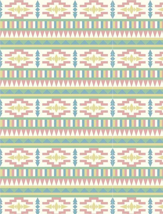 Tapeta Pixerstick Aztec pozadí - Styly