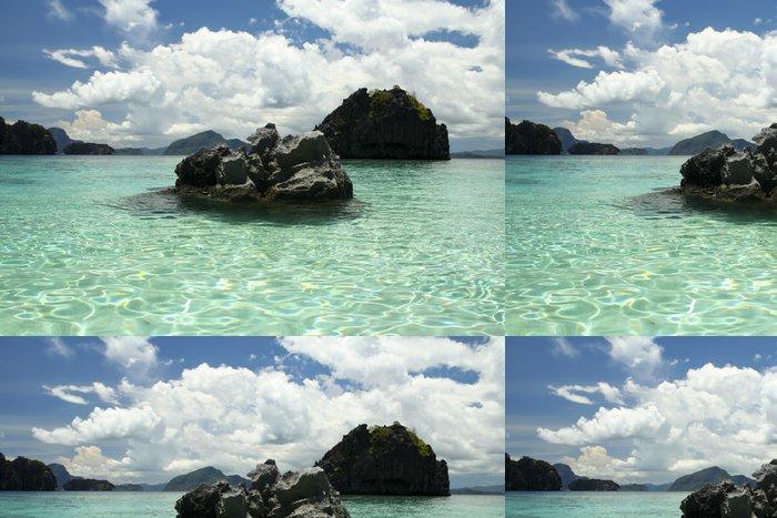 Tapeta Pixerstick Bacuit archipeligo El Nido Palawan - Asie