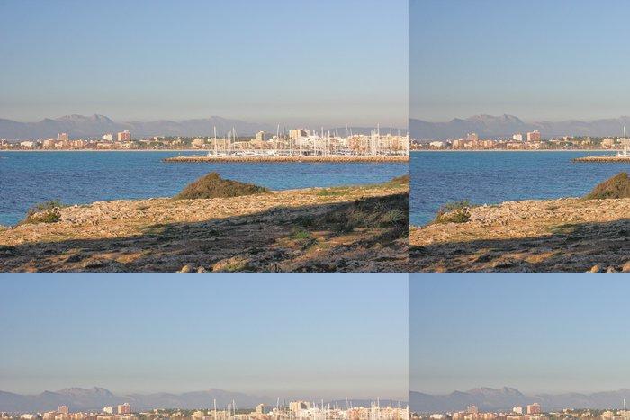 Tapeta Pixerstick Bahia Grande Mallorca - Evropa