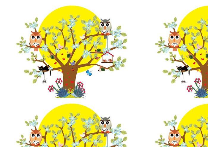Tapeta Pixerstick Bajkowe drzewo - Příroda a divočina