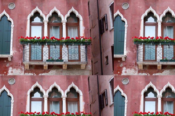 Tapeta Pixerstick Balkon v Benátkách - Evropská města