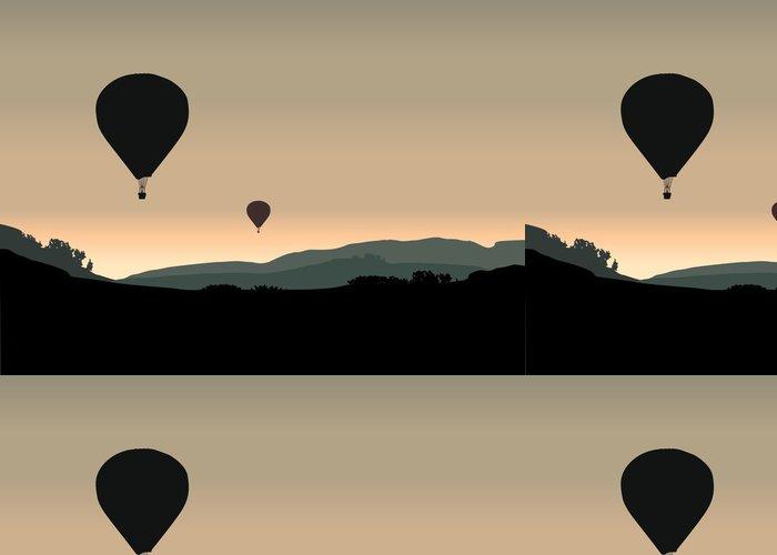 Tapeta Pixerstick Balón - Vzduch