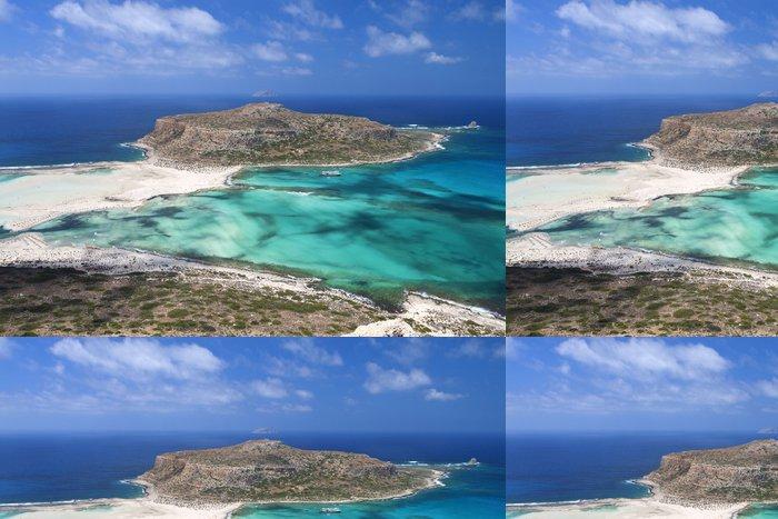 Tapeta Pixerstick Balos beach na ostrově Kréta v Řecku - Témata