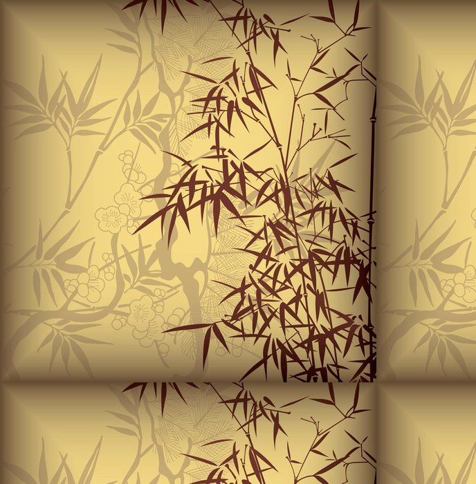 Tapeta Pixerstick Bamboo Leaf Background - Témata