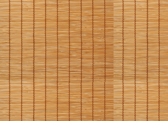 Vinylová Tapeta Bamboo Mat textury pozadí - Surové materiály