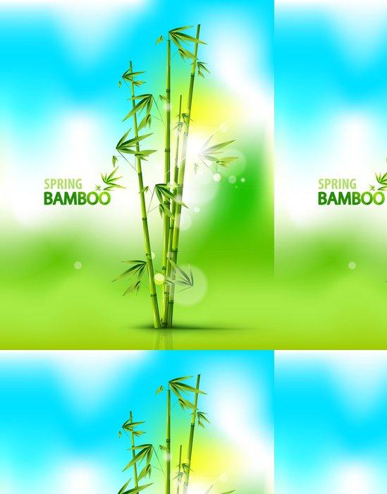 Tapeta Pixerstick Bamboo pozadí - Pozadí