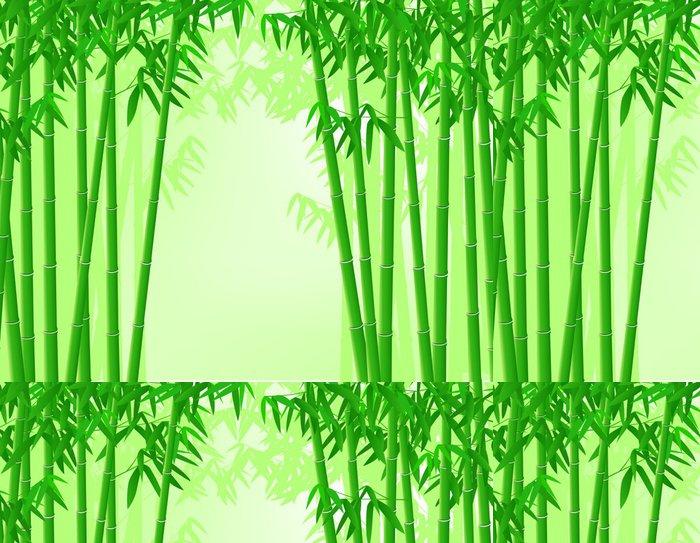 Tapeta Pixerstick Bamboo strom na pozadí - Savci