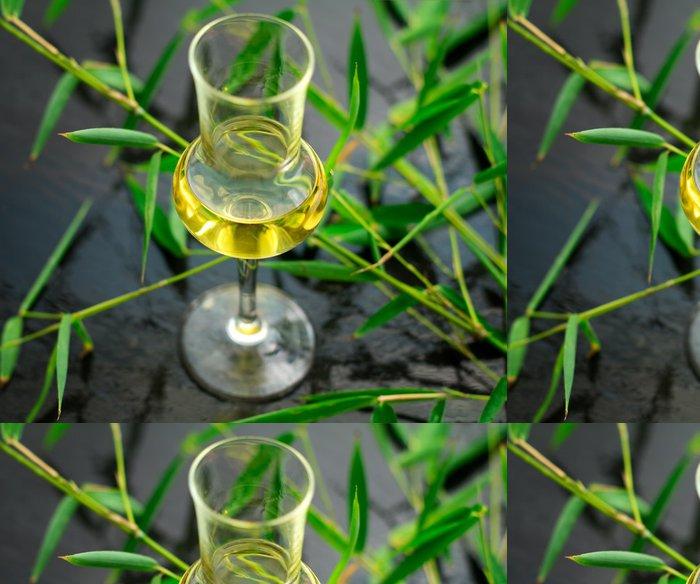 Tapeta Pixerstick Bambus likér - Alkohol