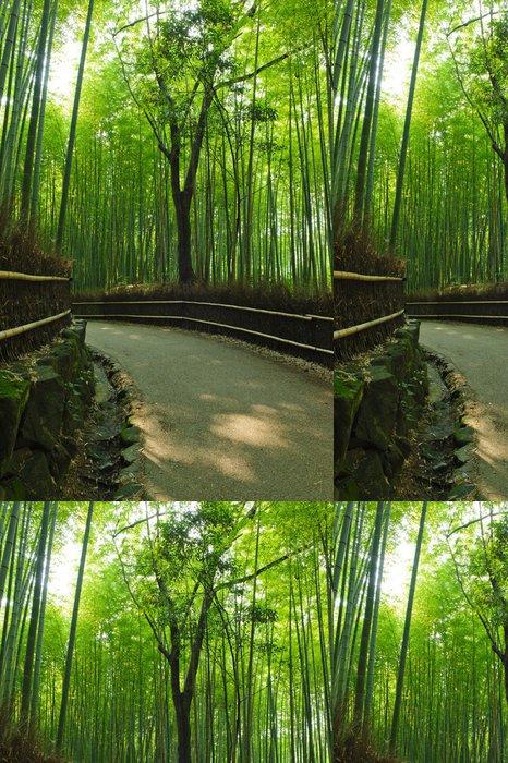 Tapeta Pixerstick Bambusový háj - Rostliny