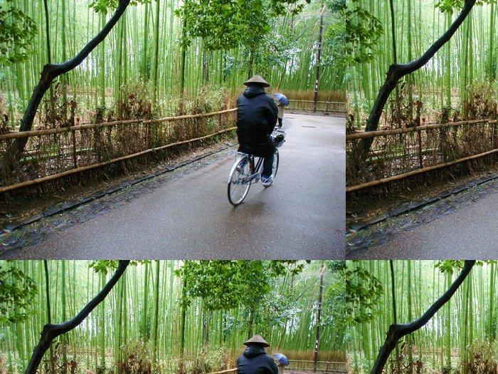 Tapeta Pixerstick Bambusový les - Asie