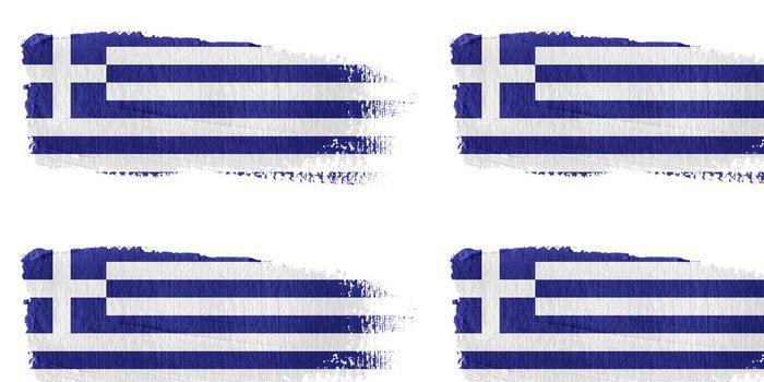 Tapeta Pixerstick Bandiera Řecko - Evropa