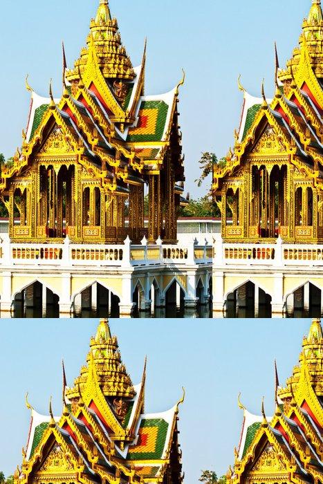 Vinylová Tapeta Bang Pa-In Aisawan chrám vody v Královského letohrádku - Památky