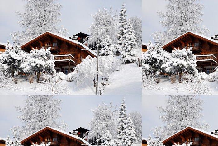 Tapeta Pixerstick Barboleuse (Suisse) - Hory