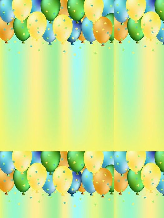 Tapeta Pixerstick Barevné balónky - Pozadí