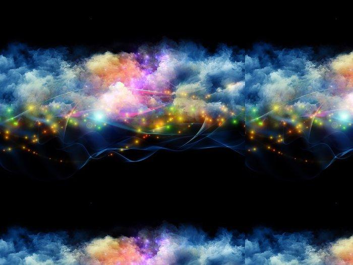 Tapeta Pixerstick Barevné fraktální mraky - Pozadí