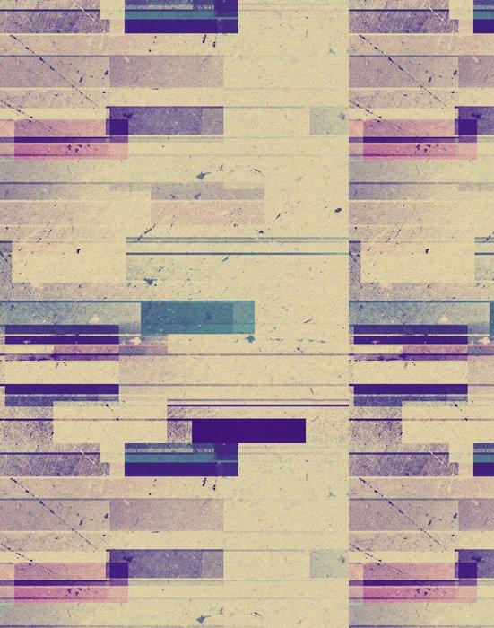 Tapeta Pixerstick Barevné geometrické pozadí různého tvaru - Pozadí