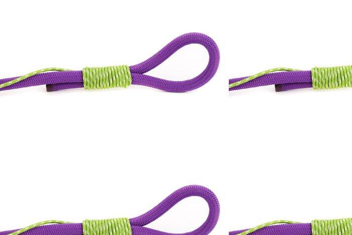 Tapeta Pixerstick Barevné lano s poutkem - Vodní sporty