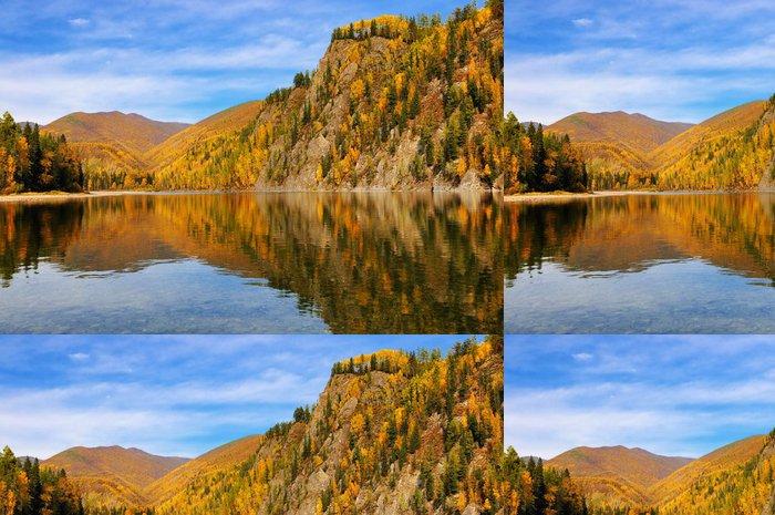 Tapeta Pixerstick Barevné podzimní krajina - Roční období