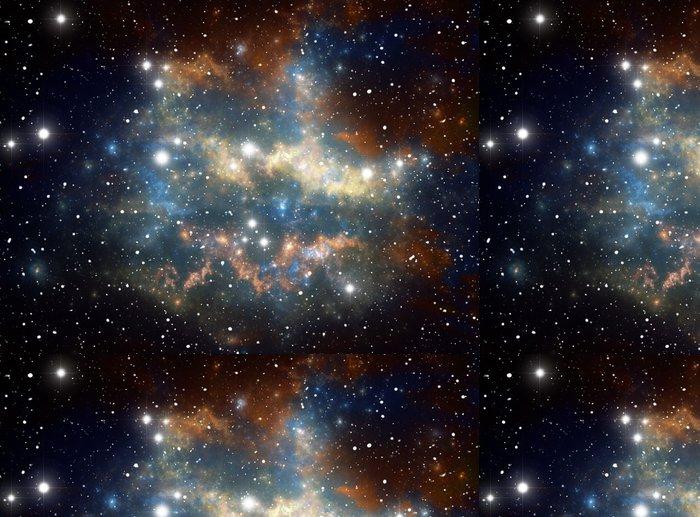 Vinylová Tapeta Barevné Space Star mlhovina - Témata