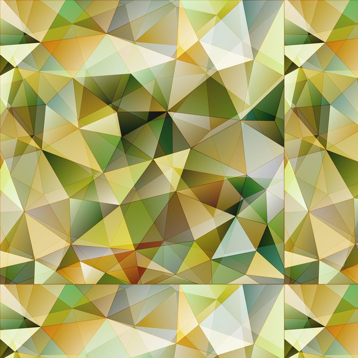 Tapeta Pixerstick Barevný trojúhelník abstraktní pozadí - Témata