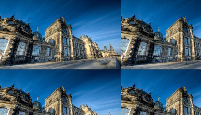 Vinylová Tapeta Barocke Architektur - Drážďany - Evropa