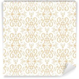 Vinylová Tapeta Barokní květinový vzor vektor bezešvé. damask luxusní textury na pozadí. vintage květinový ornament design pro tapetu, tkanina vzorek, pozadí, záclona, balení, nábytek textil.