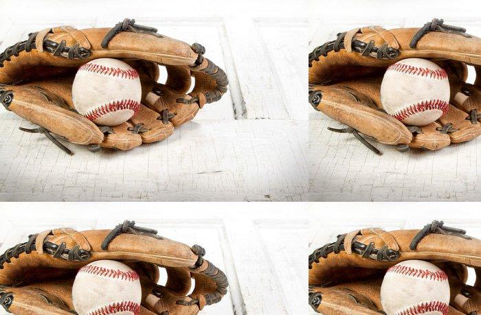 Tapeta Pixerstick Baseball a Mitt - Sportovní potřeby