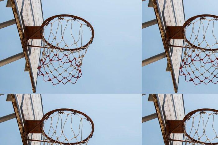 Vinylová Tapeta Basketbal cíl a net - Basketbal