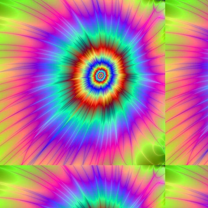 Tapeta Pixerstick Batikovaná Color Explosion -