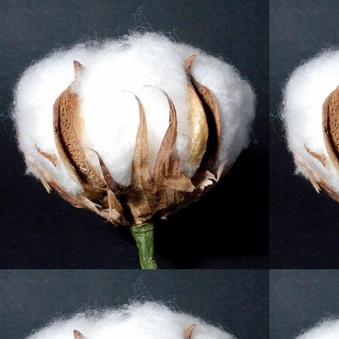 Tapeta Pixerstick Bavlna květ - Květiny