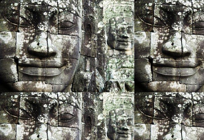 Tapeta Pixerstick Bayon Faces Angkor Wat, Kambodža - Asie