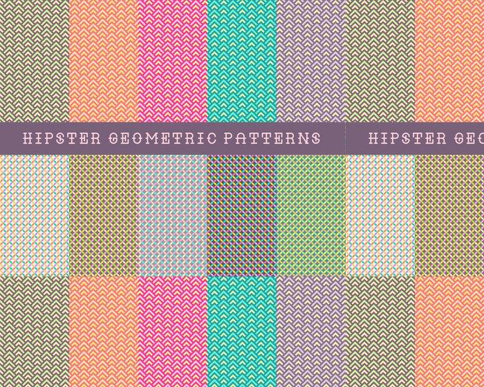 Vinylová Tapeta Bederní geometrické vzory - Prvky podnikání