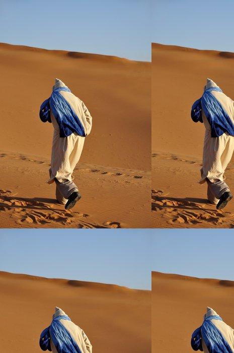 Tapeta Pixerstick Bedouin v saharské pouště, Maroko Africe - Afrika