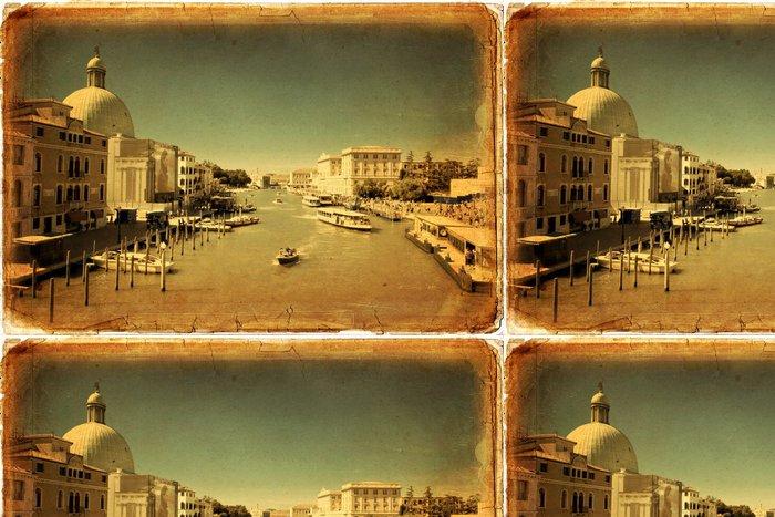 Tapeta Pixerstick Benátky, Canal Grande - Evropská města