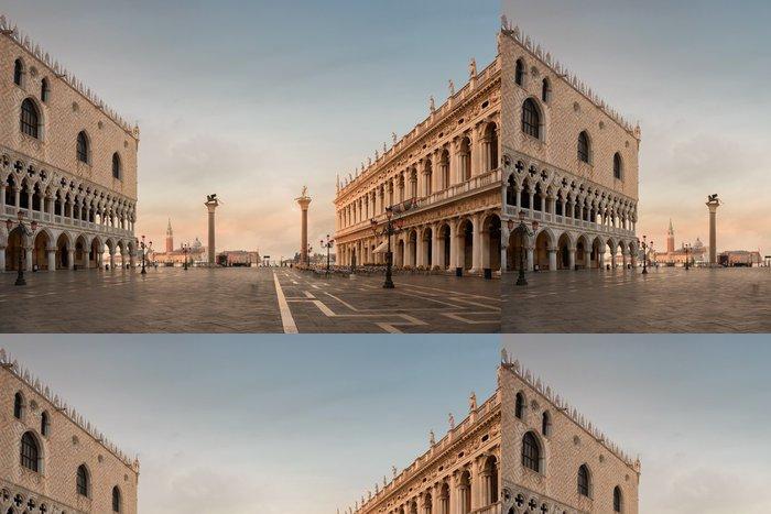 Tapeta Pixerstick Benátky, místo Saint-Marc - Evropská města