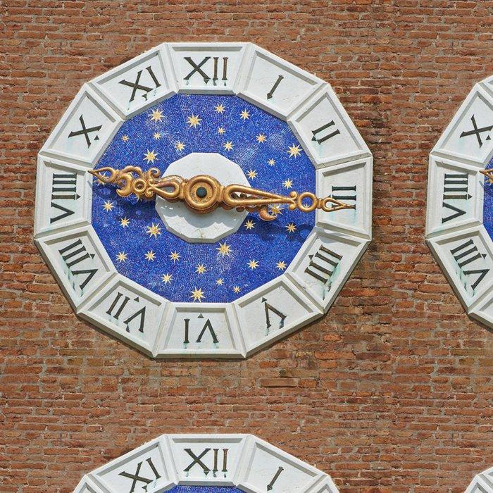 Tapeta Pixerstick Benátská hvězda hodiny v Benátkách - Evropská města