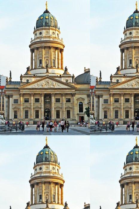 Vinylová Tapeta Berlino, Chiesa dei Tedeschi (německy dom) Gendarmenmarkt - Evropská města