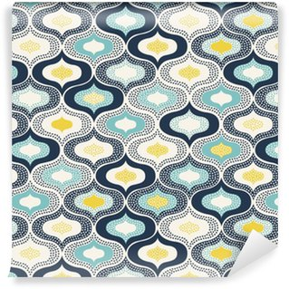 Tapeta Winylowa Bez szwu abstrakcyjny ornament kropki doodle pattern__