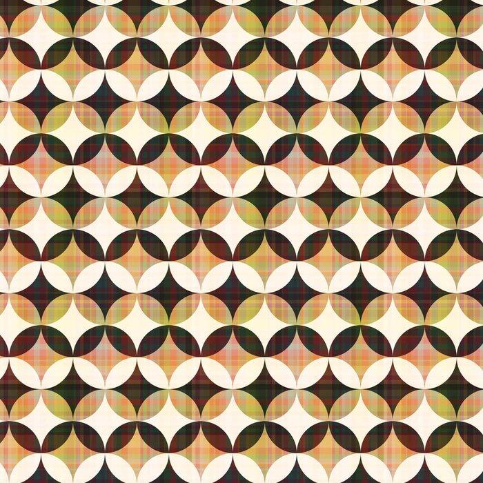 Vinylová Tapeta Bezešvé abstraktní geometrické kruhů - Pozadí