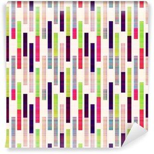 Vinylová Tapeta Bezešvé abstraktní geometrické pruhované vzor