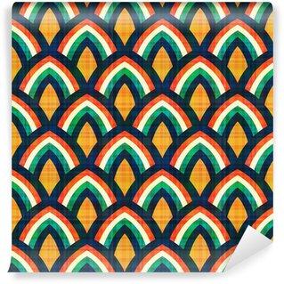 Vinylová Tapeta Bezešvé abstraktní geometrický vzor