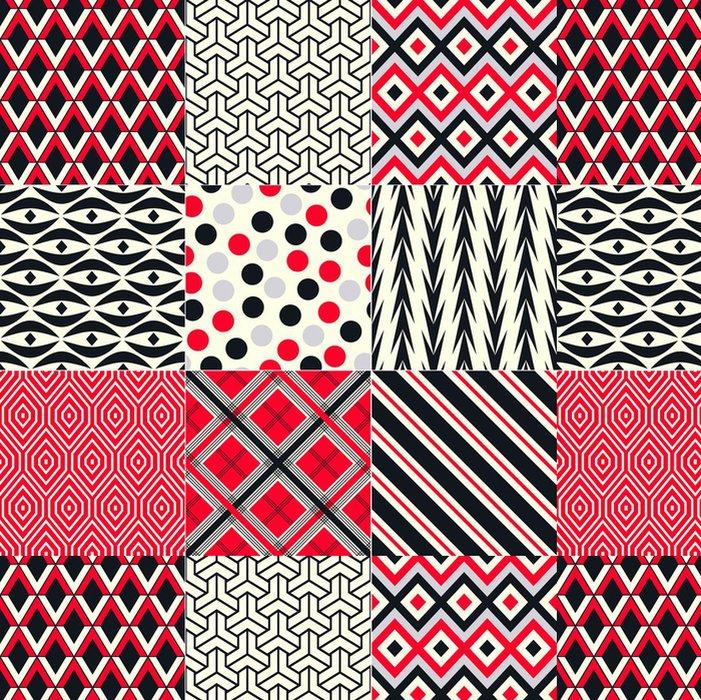 Tapeta Pixerstick Bezešvé abstraktní geometrický vzor - Pozadí