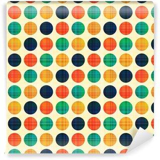 Tapeta Pixerstick Bezešvé abstraktní vzor polka dots