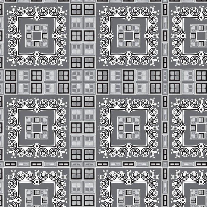 Tapeta Pixerstick Bezešvé abstraktní vzor, s geometrickými tvary - Pozadí