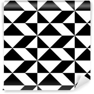Tapeta Pixerstick Bezešvé balicí papír design. Abstrakt Moderní geometrické pozadí