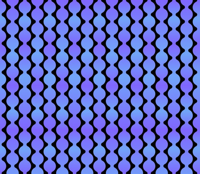 Tapeta Pixerstick Bezešvé geometrické modré pozadí s Temným Back. Vektor - Abstraktní