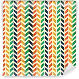 Vinylová Tapeta Bezešvé geometrický vzor rybí kost